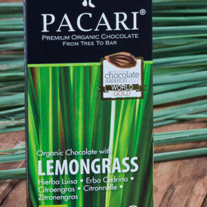 Lemongrass Chocolate bar