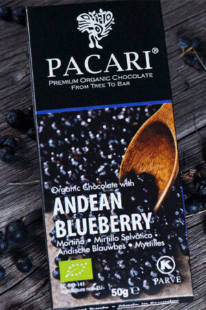 Andean Blueberry Chocolate Bar