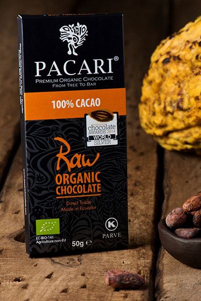 Raw Chocolate Bar 100%