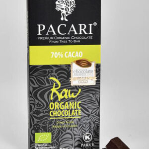 Raw Chocolate Bar 70%