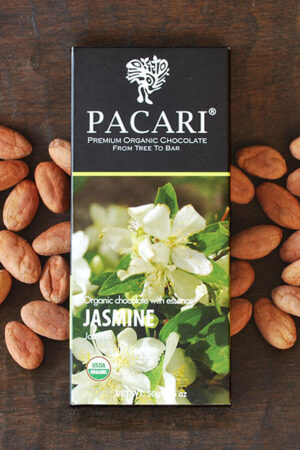 Jasmine Organic Chocolate Bar